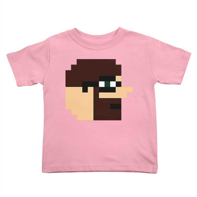 Dustin Kids Toddler T-Shirt by DrinkIN GeekOUT's Artist Shop