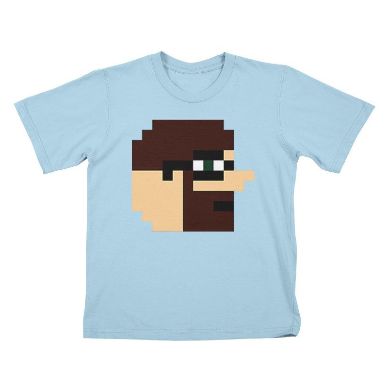 Dustin Kids T-Shirt by DrinkIN GeekOUT's Artist Shop
