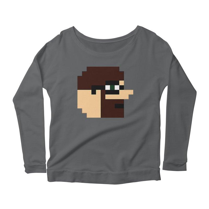 Dustin Women's Scoop Neck Longsleeve T-Shirt by DrinkIN GeekOUT's Artist Shop