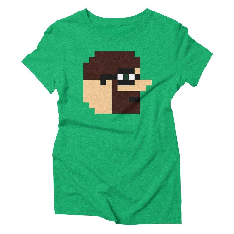 Dustin Women's Triblend T-Shirt by DrinkIN GeekOUT's Artist Shop