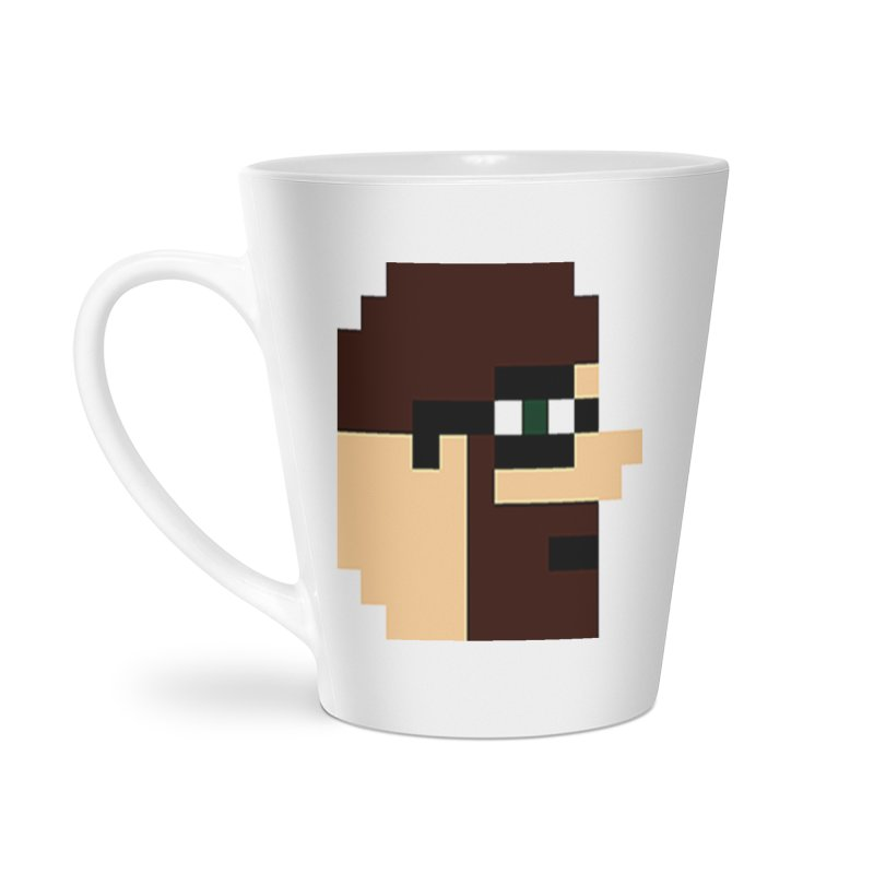 Dustin Accessories Latte Mug by DrinkIN GeekOUT's Artist Shop