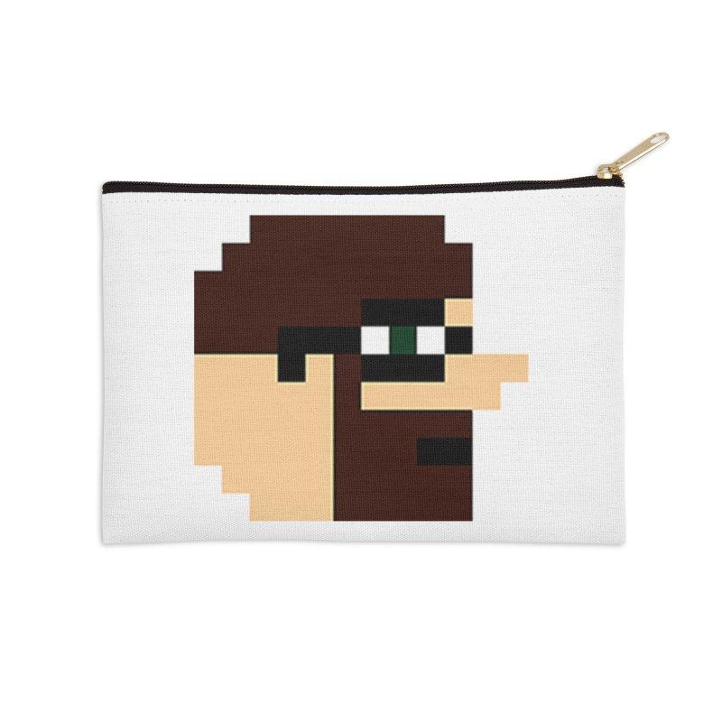 Dustin Accessories Zip Pouch by DrinkIN GeekOUT's Artist Shop