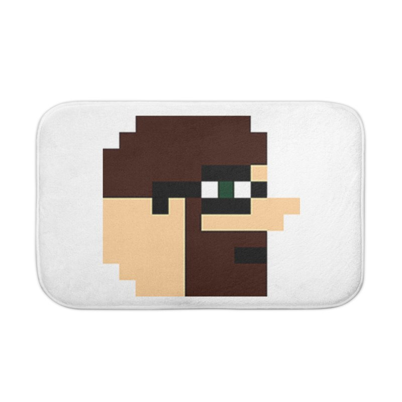 Dustin Home Bath Mat by DrinkIN GeekOUT's Artist Shop