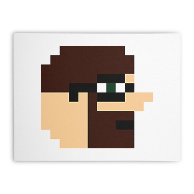 Dustin Home Stretched Canvas by DrinkIN GeekOUT's Artist Shop
