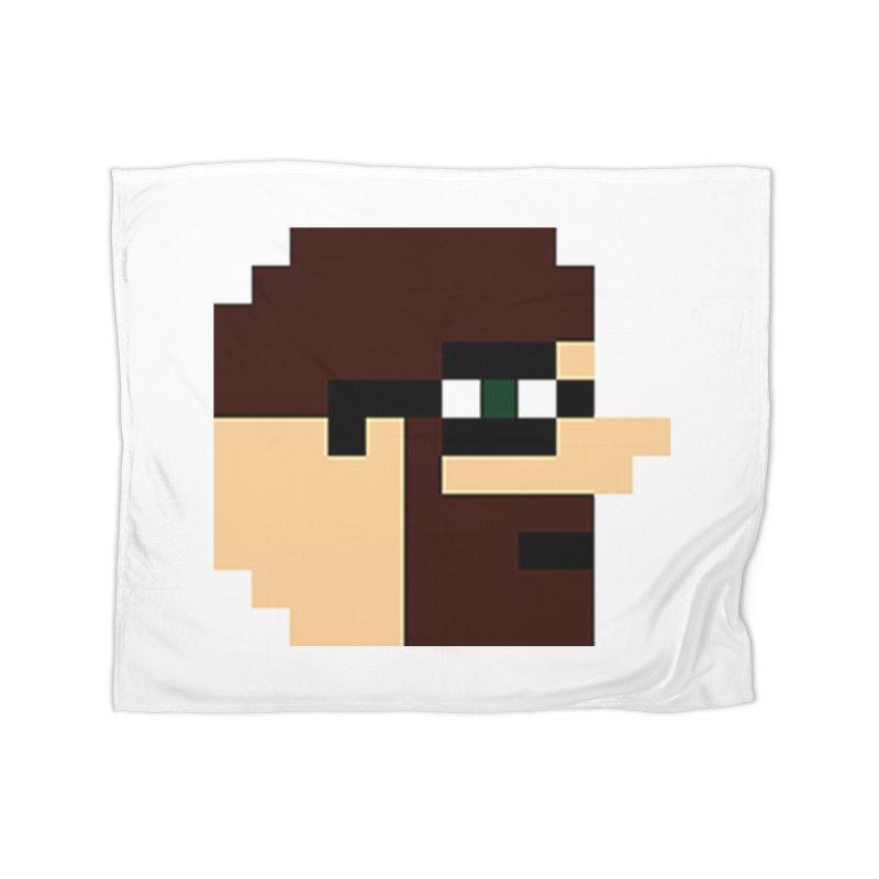 Dustin Home Fleece Blanket Blanket by DrinkIN GeekOUT's Artist Shop