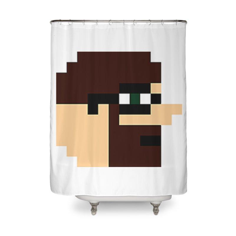 Dustin Home Shower Curtain by DrinkIN GeekOUT's Artist Shop