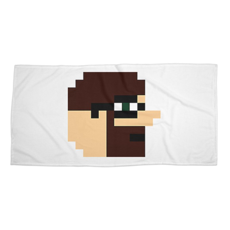 Dustin Accessories Beach Towel by DrinkIN GeekOUT's Artist Shop