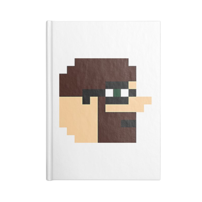 Dustin Accessories Lined Journal Notebook by DrinkIN GeekOUT's Artist Shop