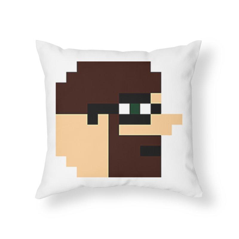 Dustin Home Throw Pillow by DrinkIN GeekOUT's Artist Shop
