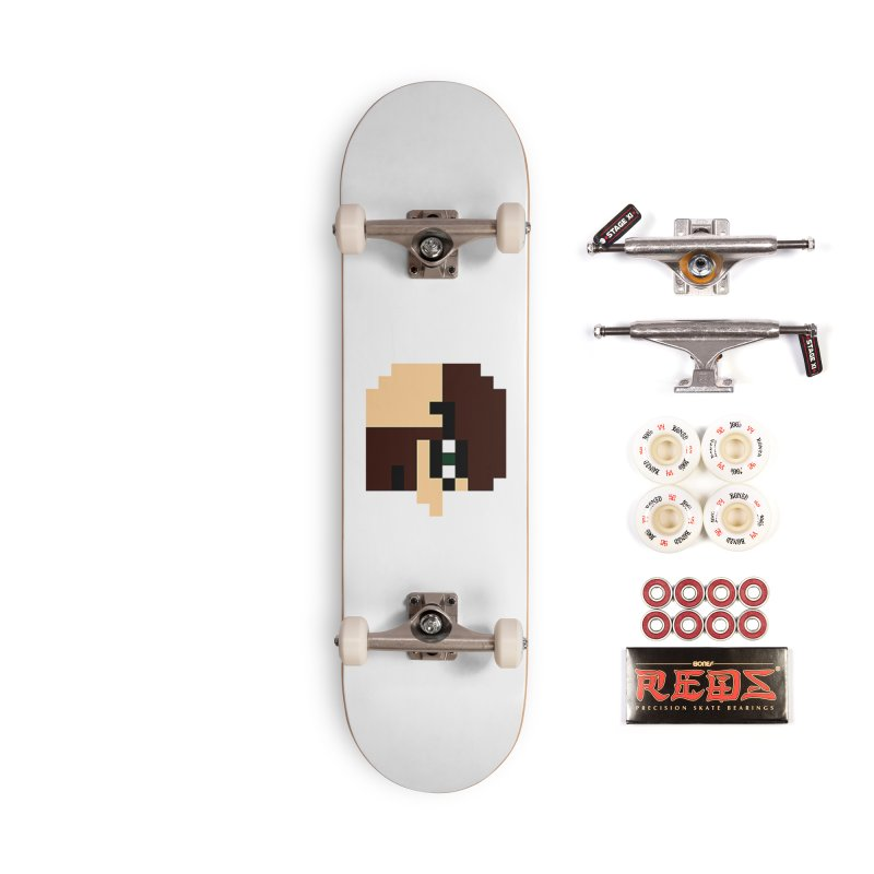 Dustin Accessories Complete - Pro Skateboard by DrinkIN GeekOUT's Artist Shop