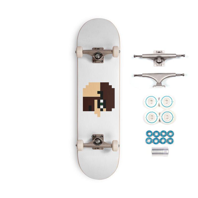 Dustin Accessories Complete - Basic Skateboard by DrinkIN GeekOUT's Artist Shop