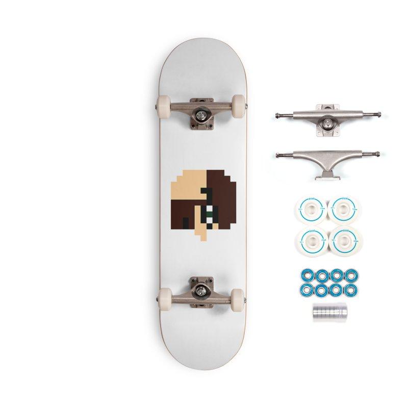 Dustin Accessories Skateboard by DrinkIN GeekOUT's Artist Shop