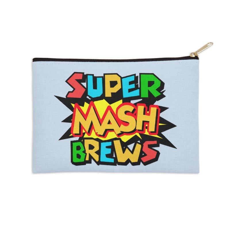 Super Mash Brews Accessories Zip Pouch by DrinkIN GeekOUT's Artist Shop