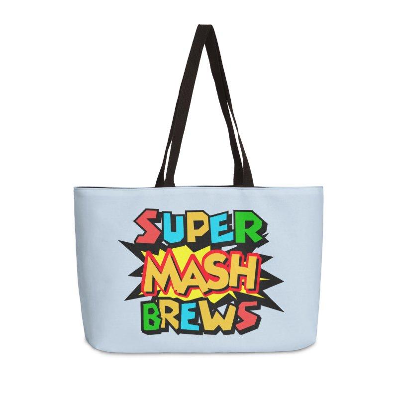 Super Mash Brews Accessories Weekender Bag Bag by DrinkIN GeekOUT's Artist Shop
