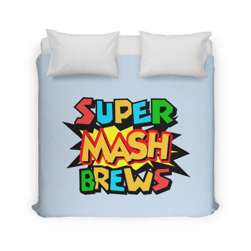 Super Mash Brews Home Duvet by DrinkIN GeekOUT's Artist Shop