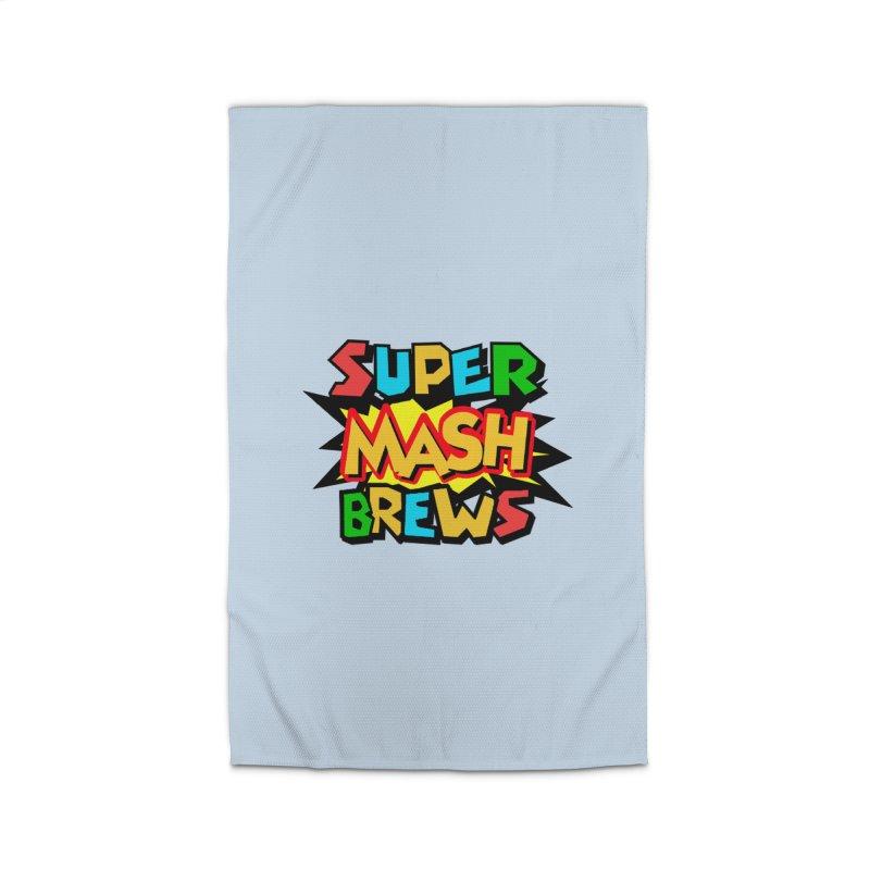 Super Mash Brews Home Rug by DrinkIN GeekOUT's Artist Shop
