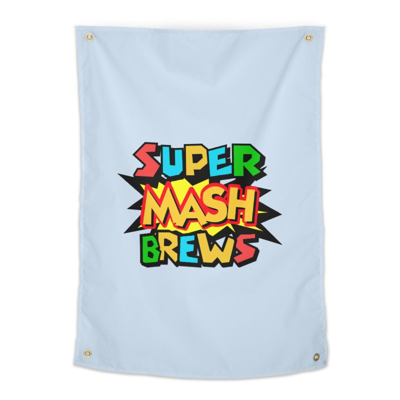 Super Mash Brews Home Tapestry by DrinkIN GeekOUT's Artist Shop