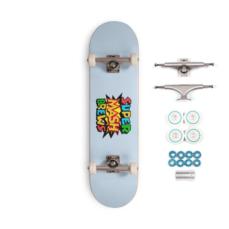 Super Mash Brews Accessories Skateboard by DrinkIN GeekOUT's Artist Shop