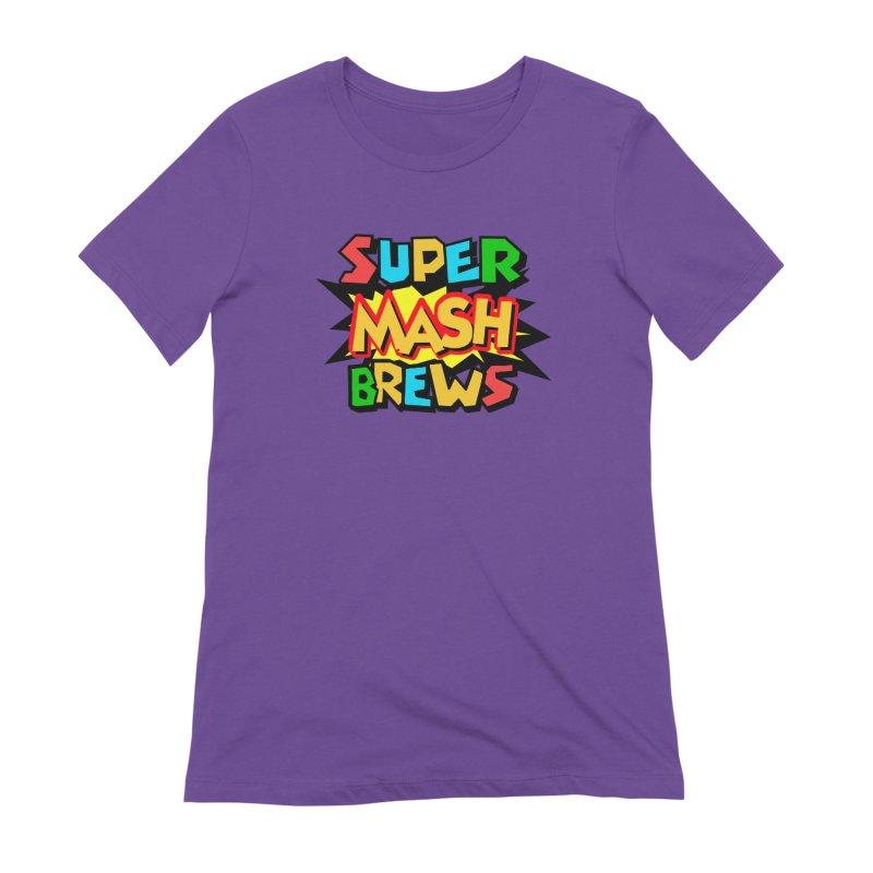 Super Mash Brews Women's Extra Soft T-Shirt by DrinkIN GeekOUT's Artist Shop
