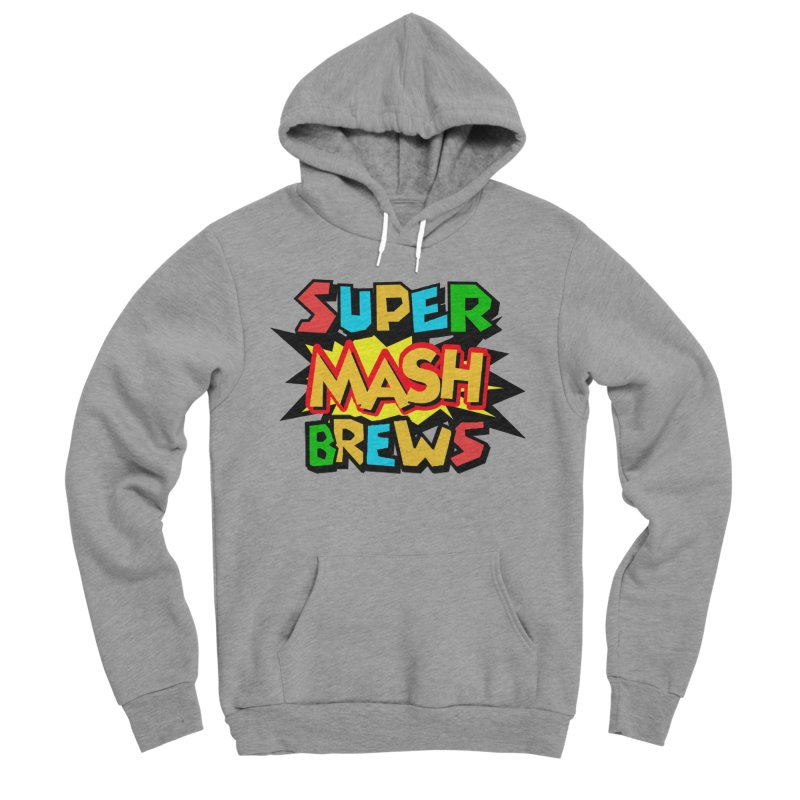 Super Mash Brews Men's Sponge Fleece Pullover Hoody by DrinkIN GeekOUT's Artist Shop