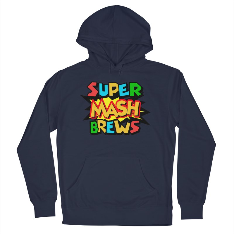 Super Mash Brews Women's French Terry Pullover Hoody by DrinkIN GeekOUT's Artist Shop