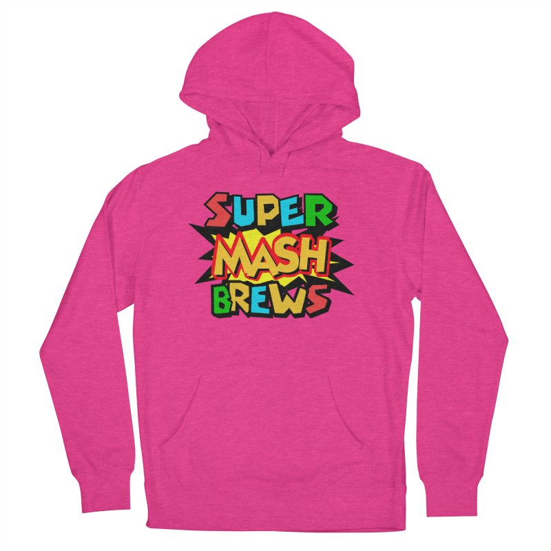 Super Mash Brews Men's French Terry Pullover Hoody by DrinkIN GeekOUT's Artist Shop