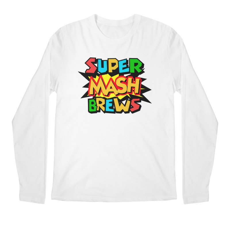Super Mash Brews Men's Regular Longsleeve T-Shirt by DrinkIN GeekOUT's Artist Shop