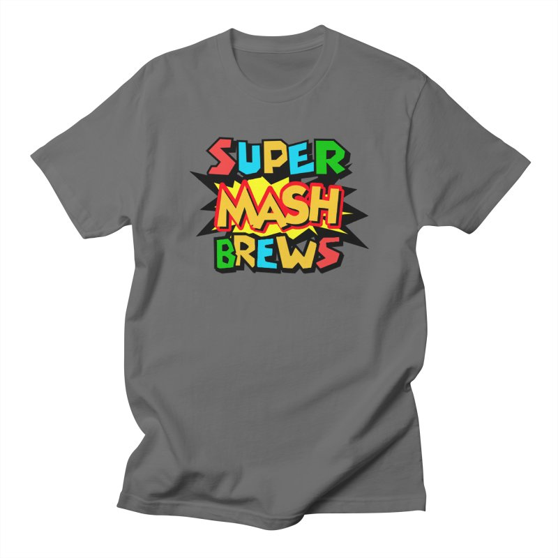 Super Mash Brews Men's T-Shirt by DrinkIN GeekOUT's Artist Shop