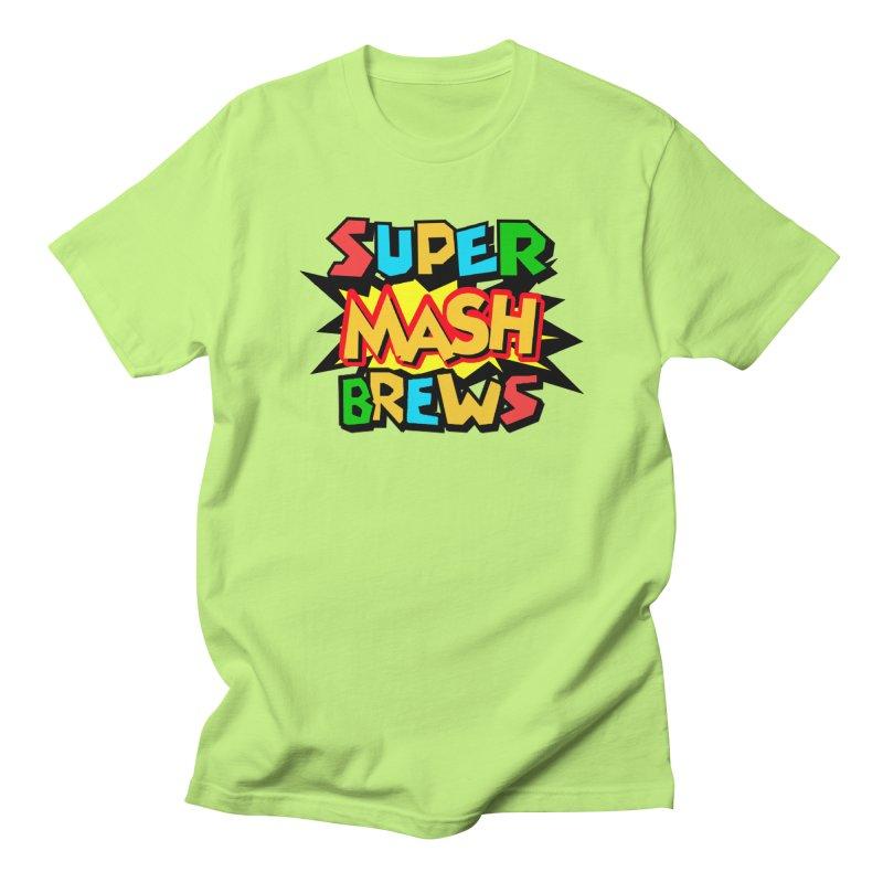 Super Mash Brews Women's Regular Unisex T-Shirt by DrinkIN GeekOUT's Artist Shop
