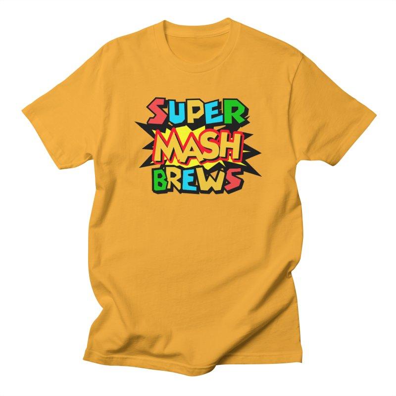 Super Mash Brews Men's Regular T-Shirt by DrinkIN GeekOUT's Artist Shop