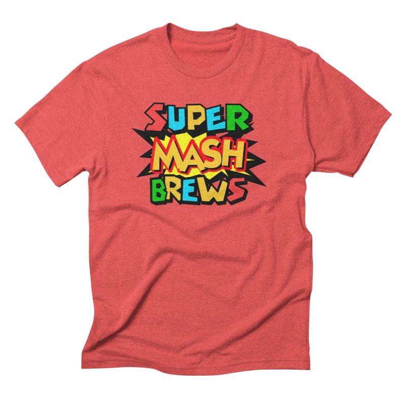 Super Mash Brews Men's Triblend T-Shirt by DrinkIN GeekOUT's Artist Shop