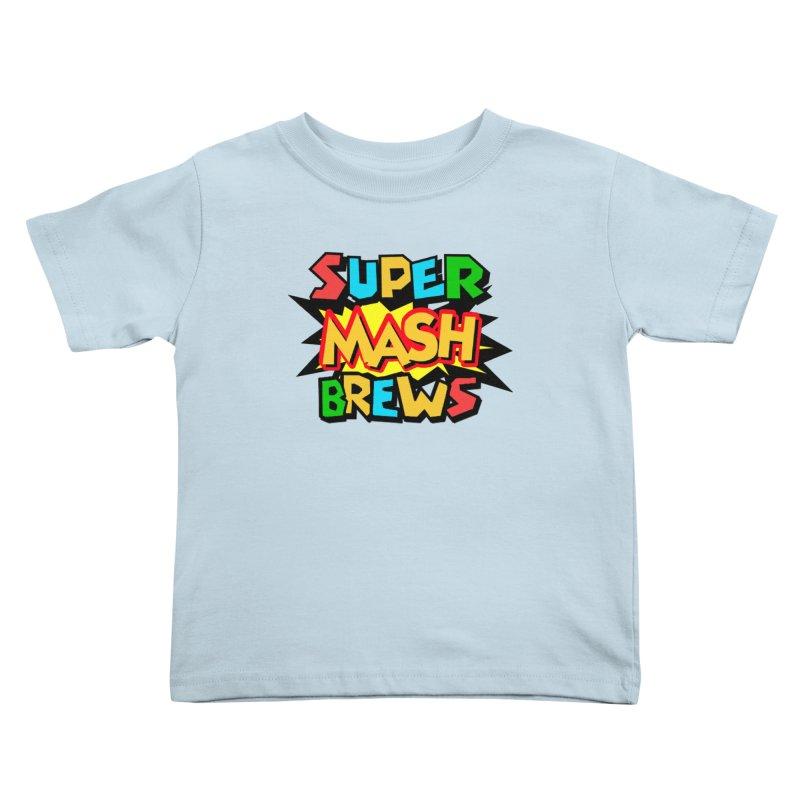 Super Mash Brews Kids Toddler T-Shirt by DrinkIN GeekOUT's Artist Shop