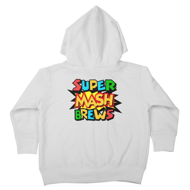 Super Mash Brews Kids Toddler Zip-Up Hoody by DrinkIN GeekOUT's Artist Shop