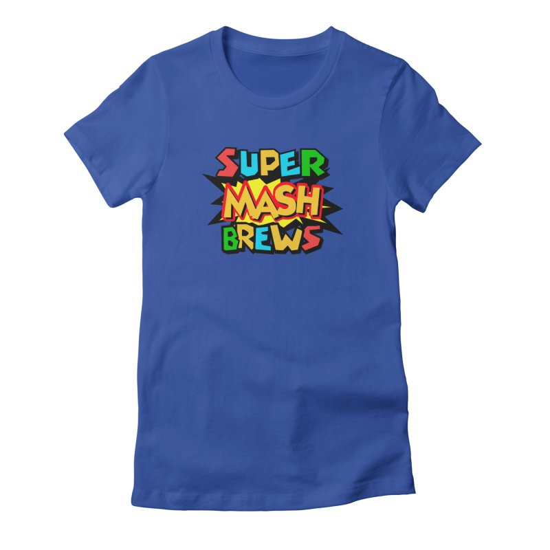 Super Mash Brews Women's Fitted T-Shirt by DrinkIN GeekOUT's Artist Shop
