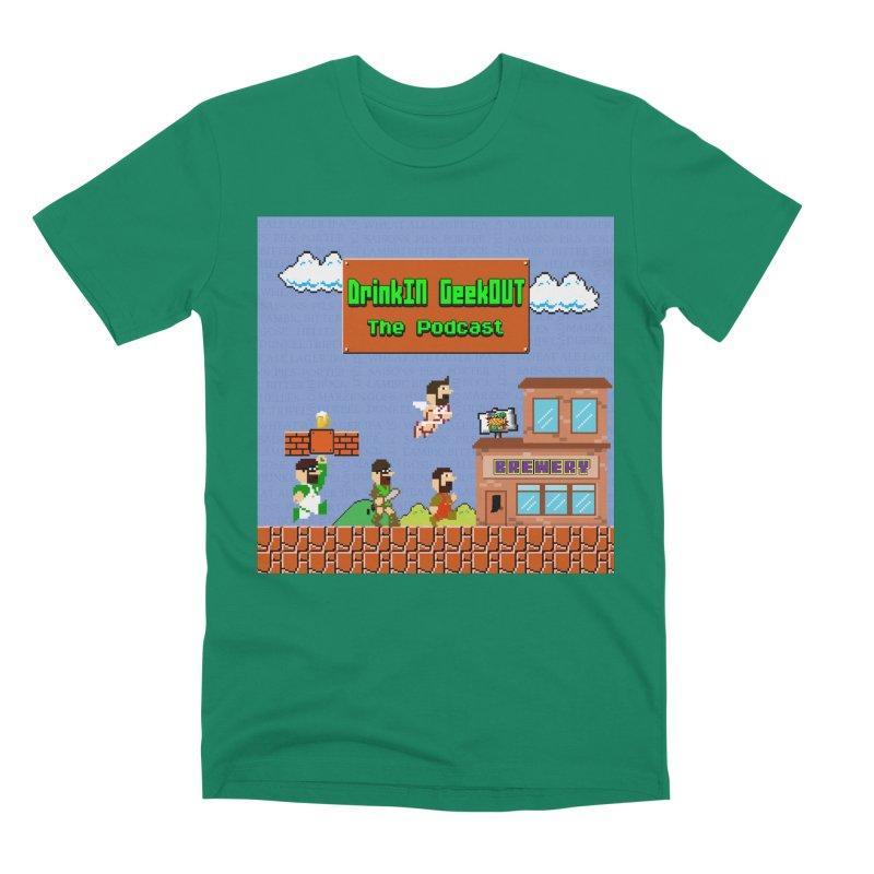 Super DiGo Bros. Men's Premium T-Shirt by DrinkIN GeekOUT's Artist Shop