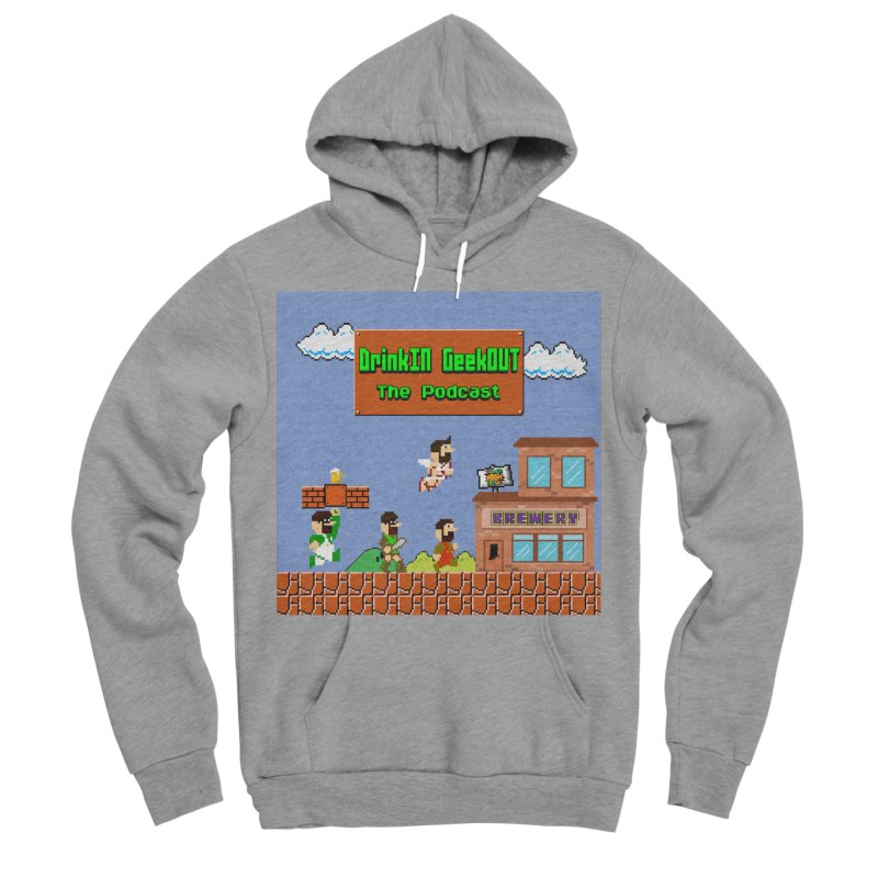 Super DiGo Bros. Men's Sponge Fleece Pullover Hoody by DrinkIN GeekOUT's Artist Shop