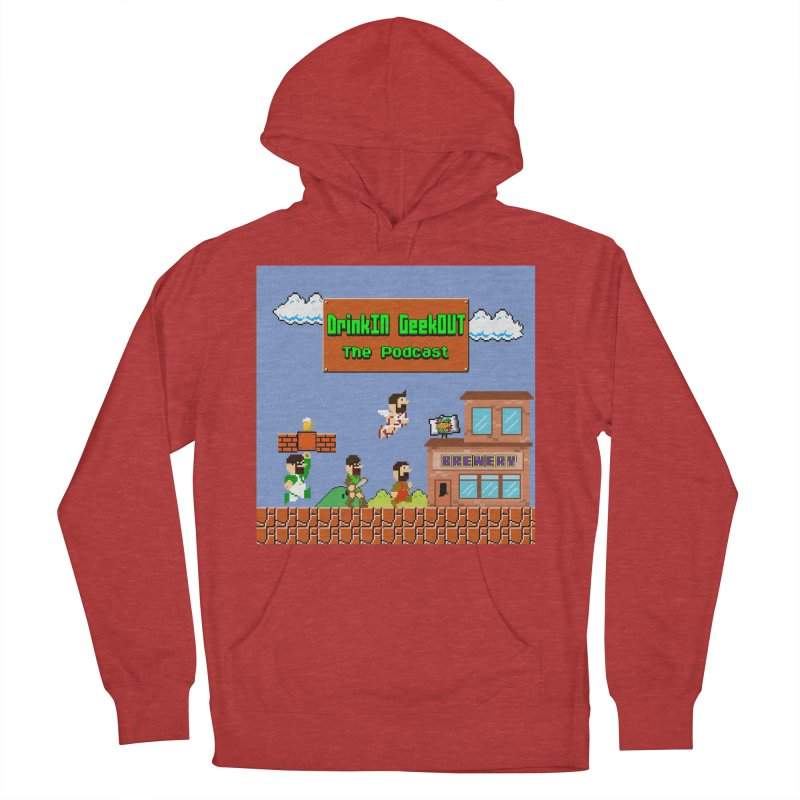 Super DiGo Bros. Men's French Terry Pullover Hoody by DrinkIN GeekOUT's Artist Shop