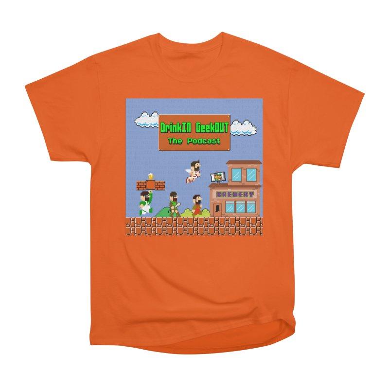 Super DiGo Bros. Men's Heavyweight T-Shirt by DrinkIN GeekOUT's Artist Shop