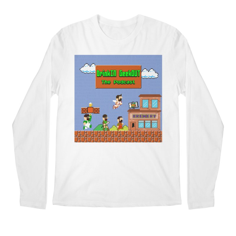 Super DiGo Bros. Men's Regular Longsleeve T-Shirt by DrinkIN GeekOUT's Artist Shop