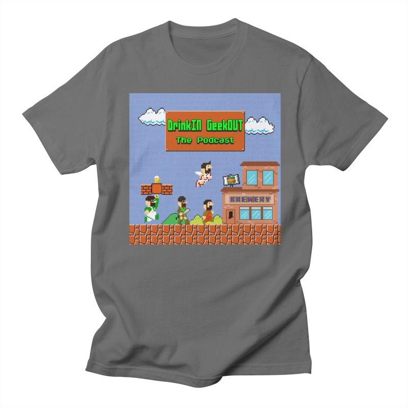 Super DiGo Bros. Men's T-Shirt by DrinkIN GeekOUT's Artist Shop