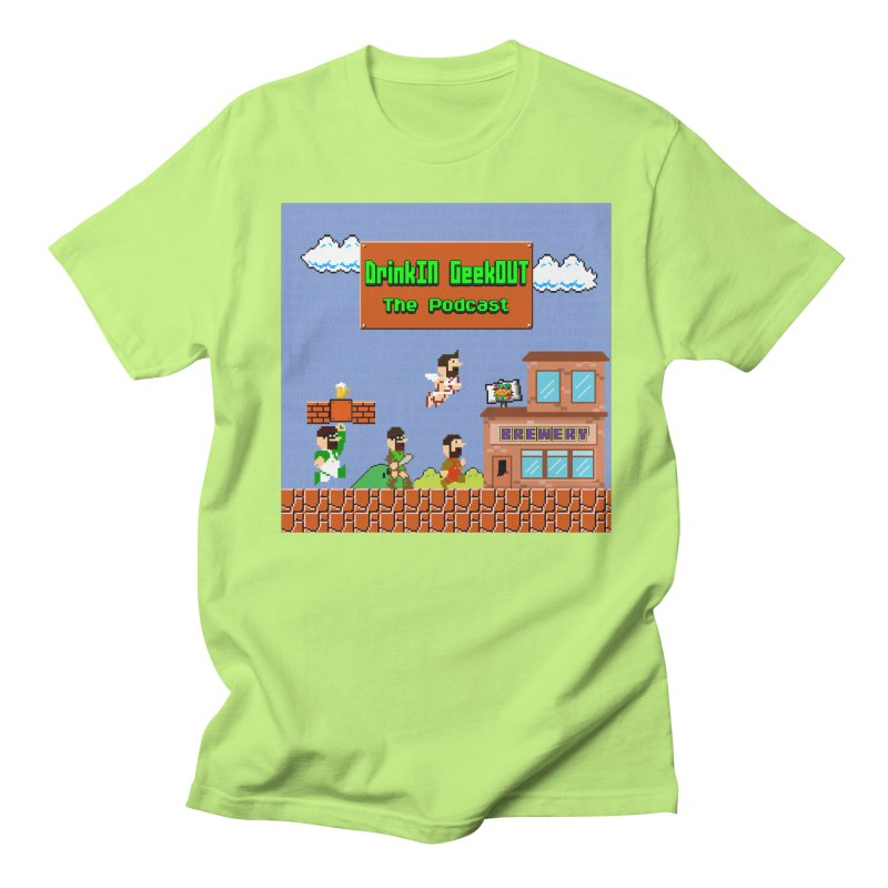Super DiGo Bros. Women's Regular Unisex T-Shirt by DrinkIN GeekOUT's Artist Shop
