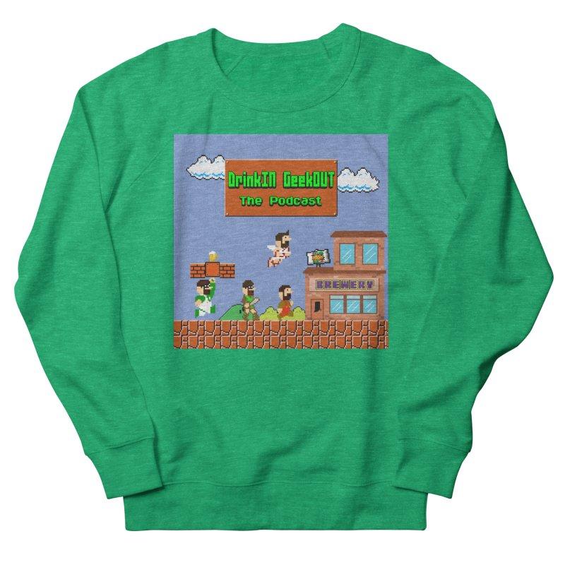 Super DiGo Bros. Women's French Terry Sweatshirt by DrinkIN GeekOUT's Artist Shop