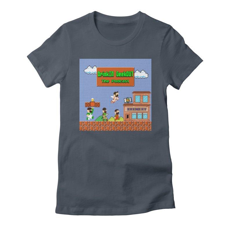 Super DiGo Bros. Women's T-Shirt by DrinkIN GeekOUT's Artist Shop