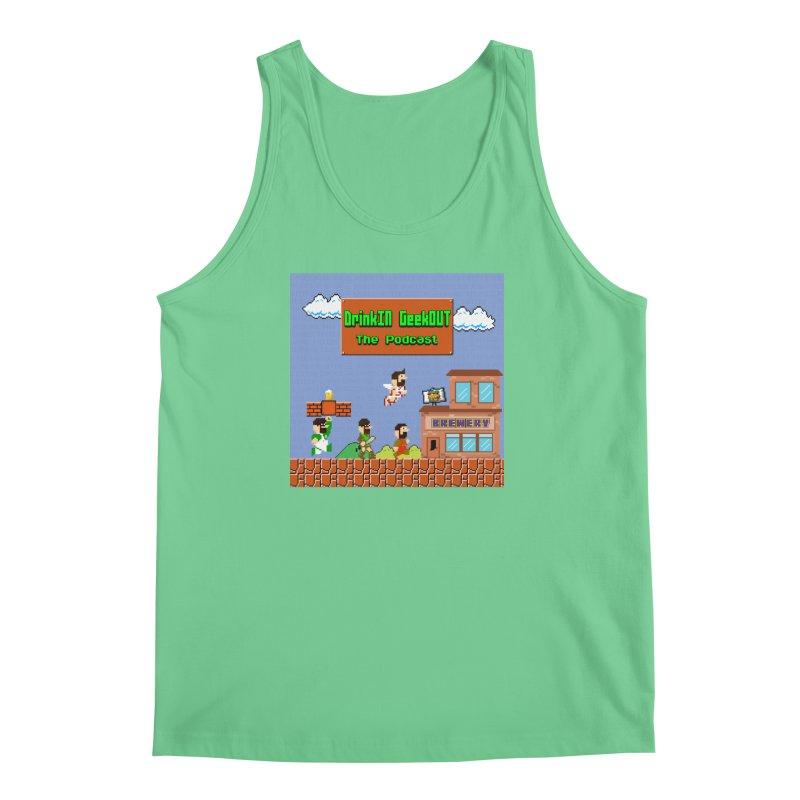 Super DiGo Bros. Men's Regular Tank by DrinkIN GeekOUT's Artist Shop