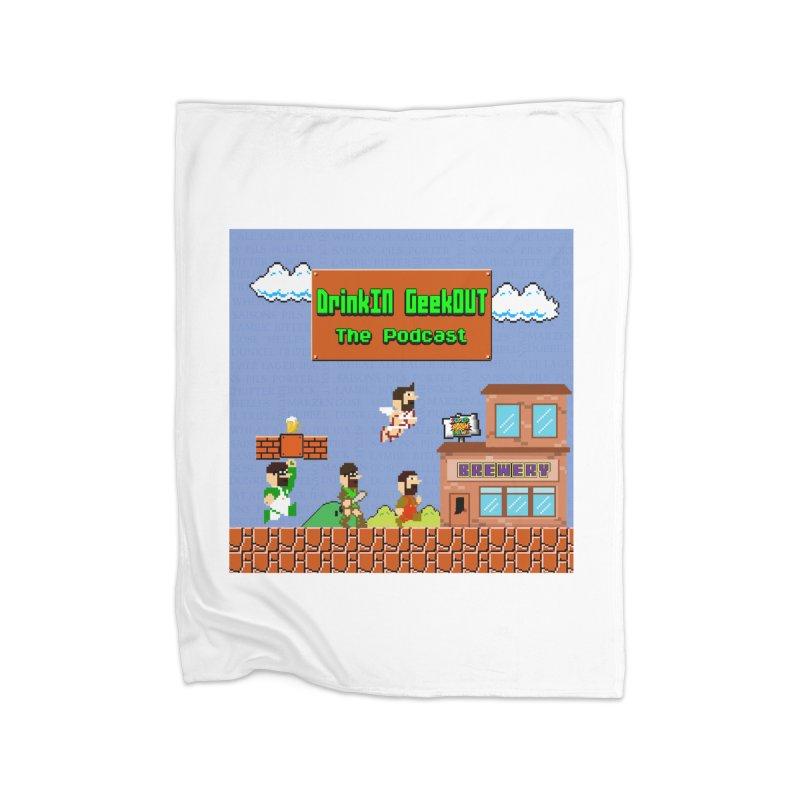 Super DiGo Bros. Home Fleece Blanket Blanket by DrinkIN GeekOUT's Artist Shop