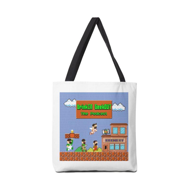 Super DiGo Bros. Accessories Tote Bag Bag by DrinkIN GeekOUT's Artist Shop