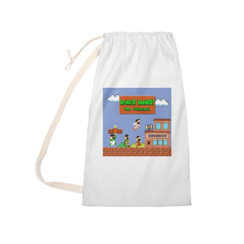 Super DiGo Bros. Accessories Bag by DrinkIN GeekOUT's Artist Shop