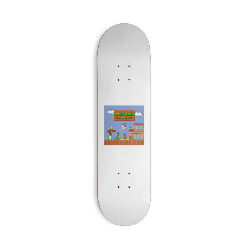 Super DiGo Bros. Accessories Skateboard by DrinkIN GeekOUT's Artist Shop