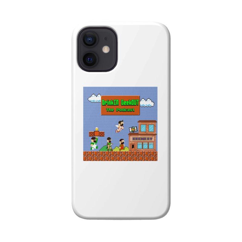 Super DiGo Bros. Accessories Phone Case by DrinkIN GeekOUT's Artist Shop