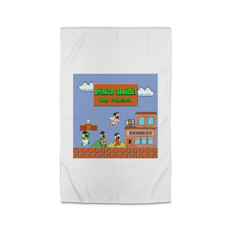 Super DiGo Bros. Home Rug by DrinkIN GeekOUT's Artist Shop